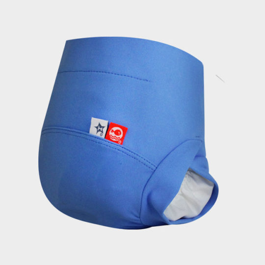 maillot couche bain bleu