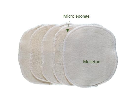 lingettes coton GOTS