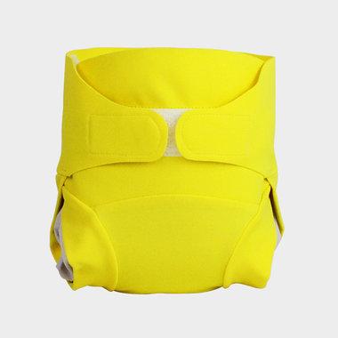 couche ecolo bébé jaune