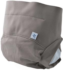 couche culotte lavable grise
