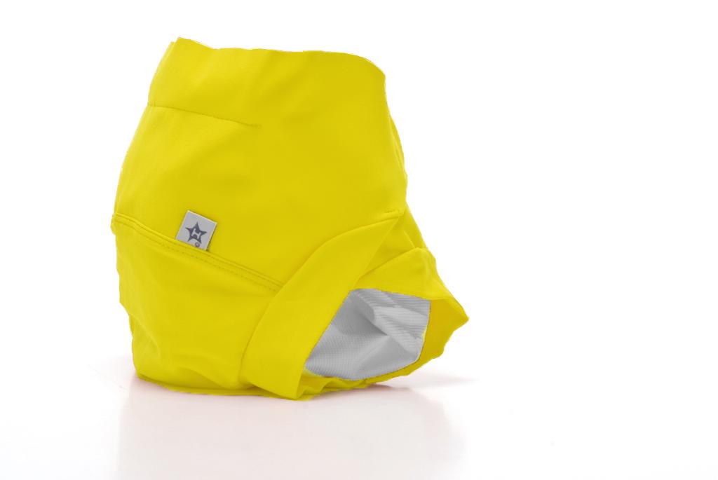couche culotte bébé jaune hamac