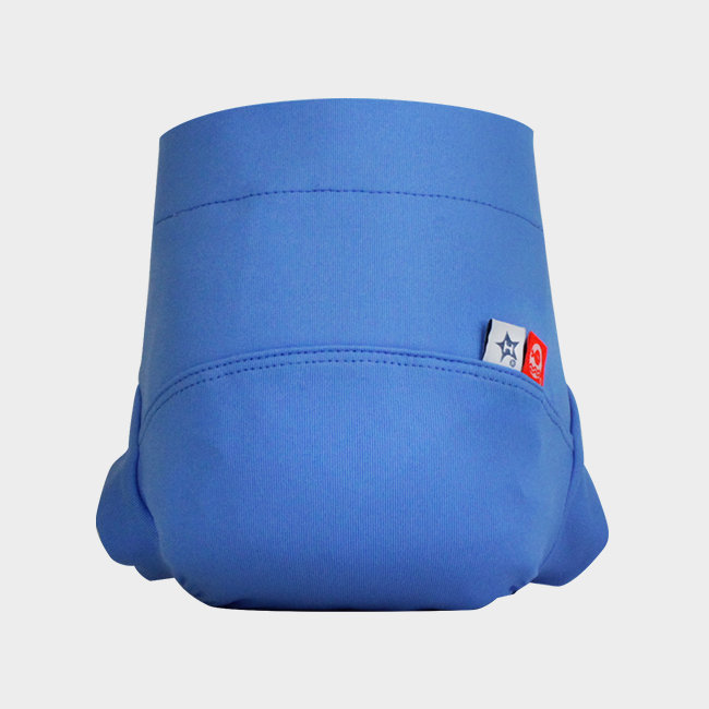 Couche maillot bleue