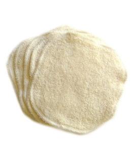 5 Lingettes bébé coton certifié GOTS