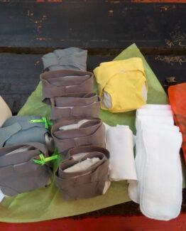 Pack Découverte : essayez les couches lavables !