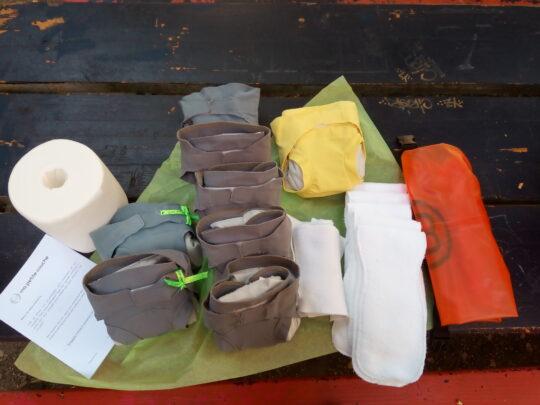 pack découverte taille S couche lavable