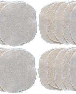 20 Lingettes bébé coton certifié GOTS