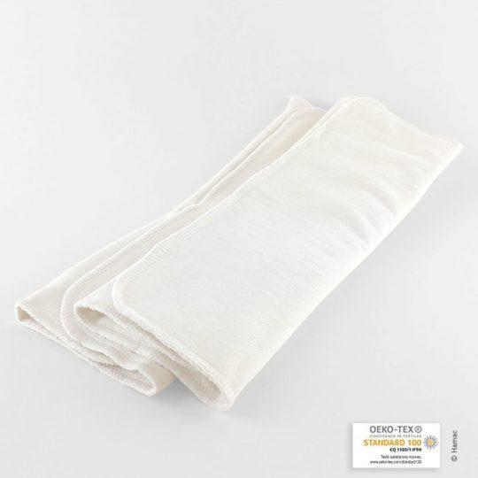 inserts coton bio pour couches lavables