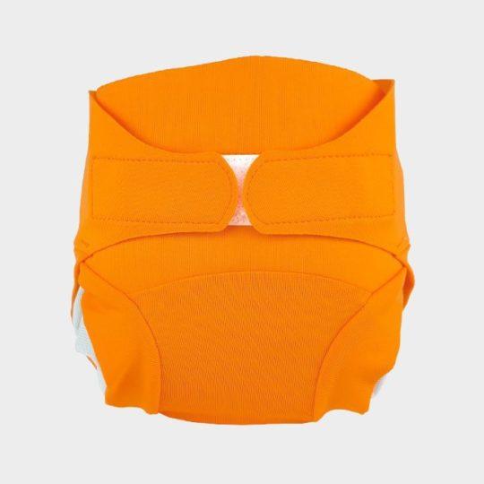 couche bébé orange