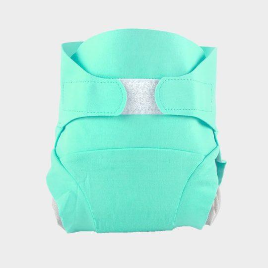 couche lavable vert