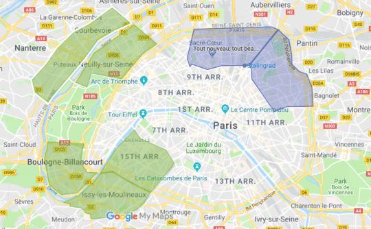 ma petite couche à Paris