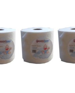 Pack de 3 rouleaux de 100 voiles de protection pour vos couches