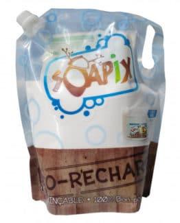Eco-recharge de lessive Soapix:  écologique et parfaite pour bébé