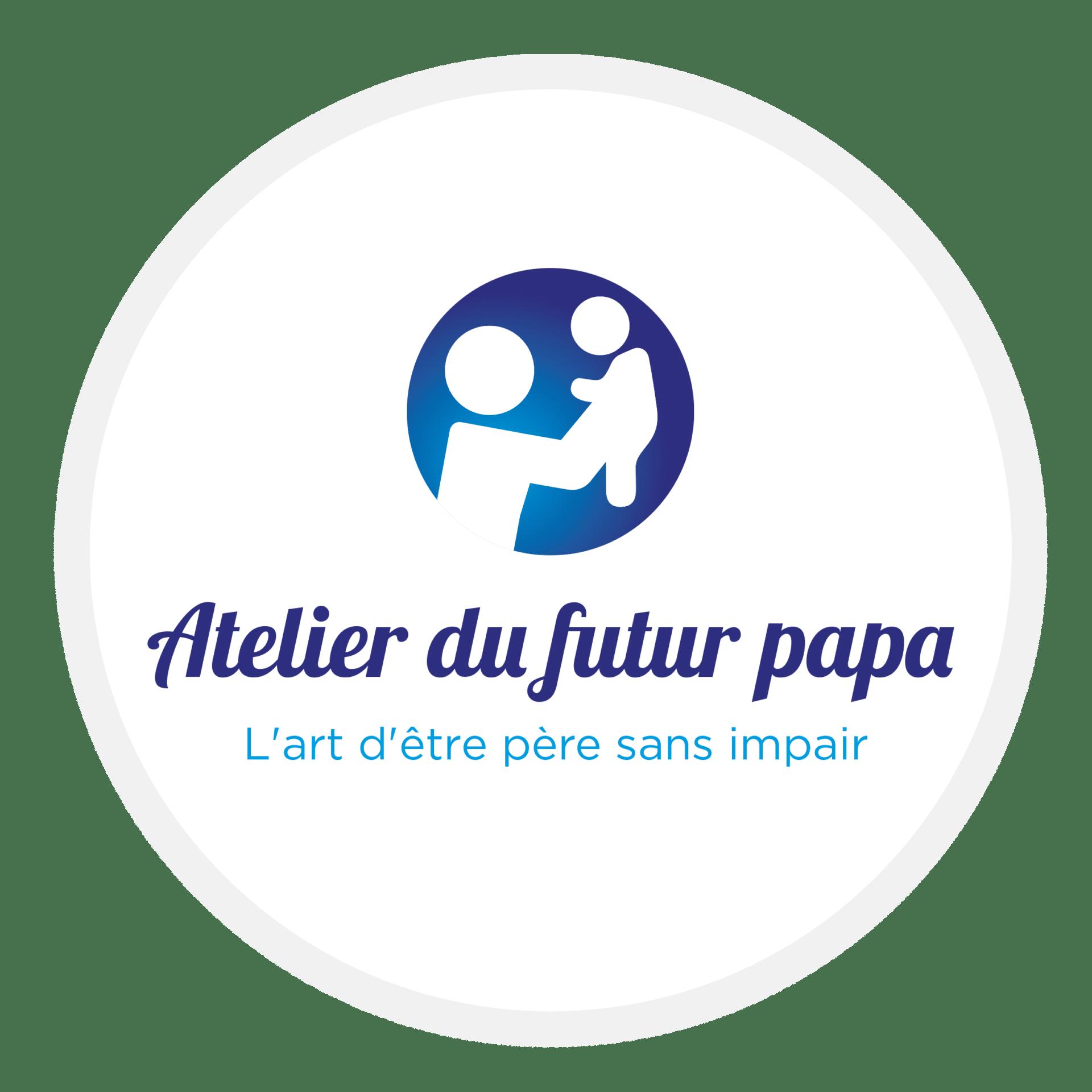 logo rond futur papa