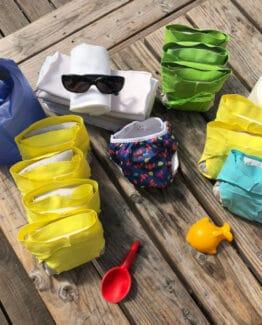 Coffret Été 2020 : pour un bébé Zéro Déchet en vacances !